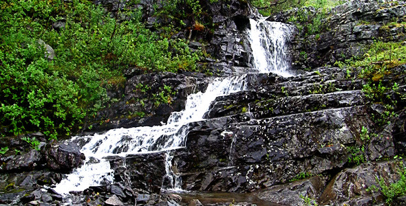Teen model sandra waterfall set black models picture