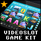 Videoslot Graphics Game Kit - Deepsea Quest