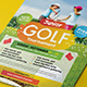 Kids Charity Golf Flyer