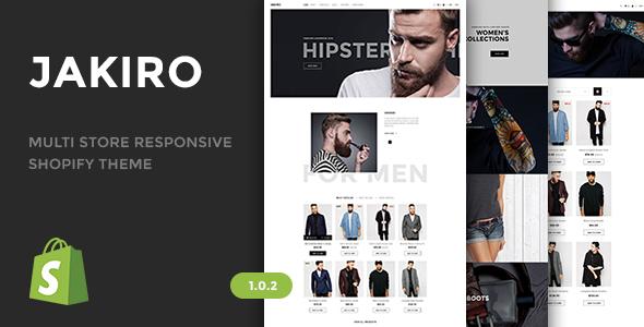 Jakiro - Multi Store Responsive Shopify Theme