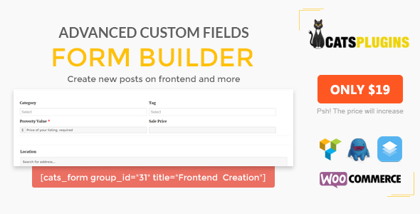 ACF Kind Builder – Multipurpose Frontend Kind Submission (Types)