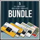 A5 Lanscape Brochure Template Bundle