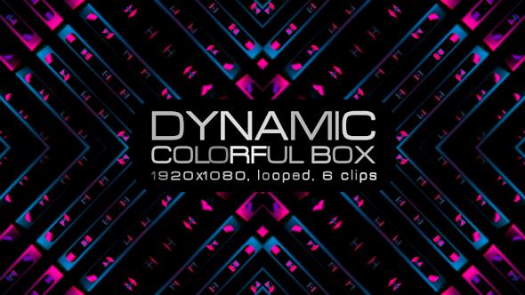 VideoHive Dynamic Colorful Box VJ Pack 19612363