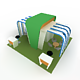 Fair stall-1 (Low poly)