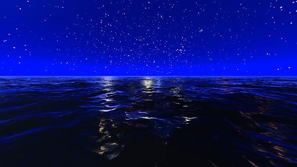 VideoHive Night Sea 19612922
