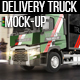 Delivery Truck Mock-Up