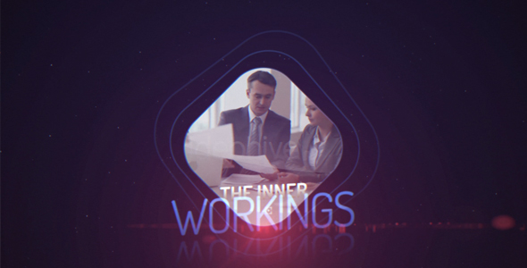 VideoHive Quick Corporate HUD UI Intro 19613123