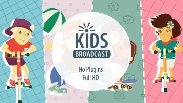 VideoHive Kids Broadcast 19613325