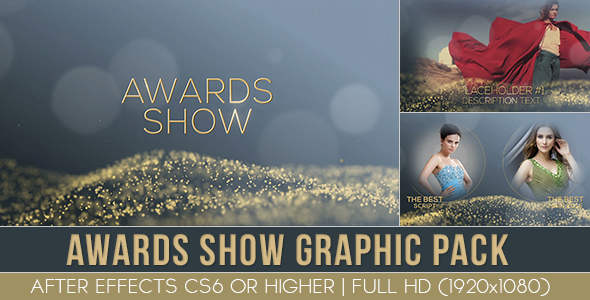 VideoHive Award Show graphic pack 19614080