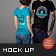 T-Shirt Mockup-Graphicriver中文最全的素材分享平台