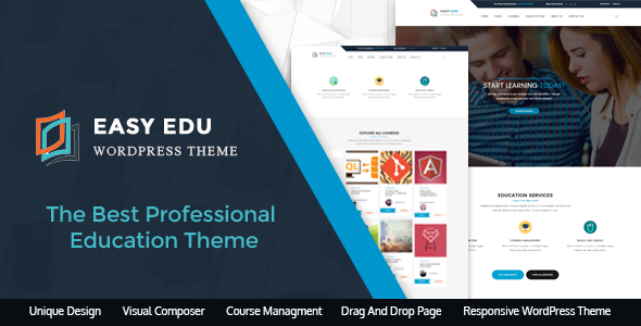 Download Education WordPress Theme for Academies, Collages and Universities | EasyEdu