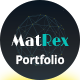 MatRex Creative Portfolio Template