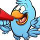 Bird with Megaphone