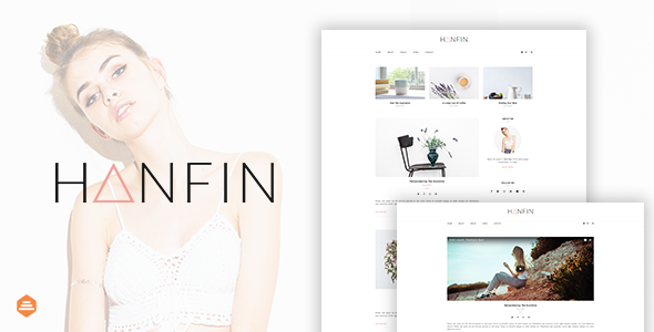 Download Hanfin - Personal & Clean Blog Template