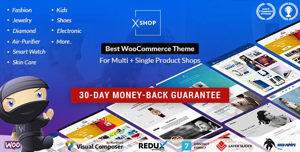 Best WooCommerce Theme   XSHOP