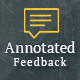Annotated Feedback (Forms)