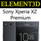 Element3D - Sony Xperia XZ Premium