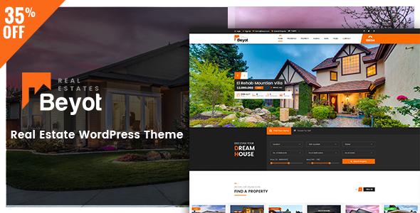 Download BEYOT - WordPress Real Estate Theme