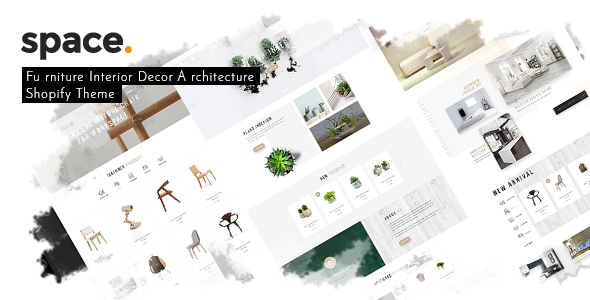 Space - Minimal Furniture Interior Decor Architecture Shopify Theme