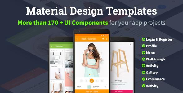 Material Design Templates (Templates) Download