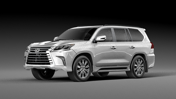 Lexus LX570  2016 - 3DOcean Item for Sale