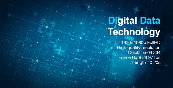 VideoHive Digital Data Technology 19617181