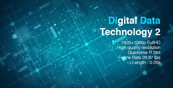 VideoHive Digital Data Technology 2 19617461