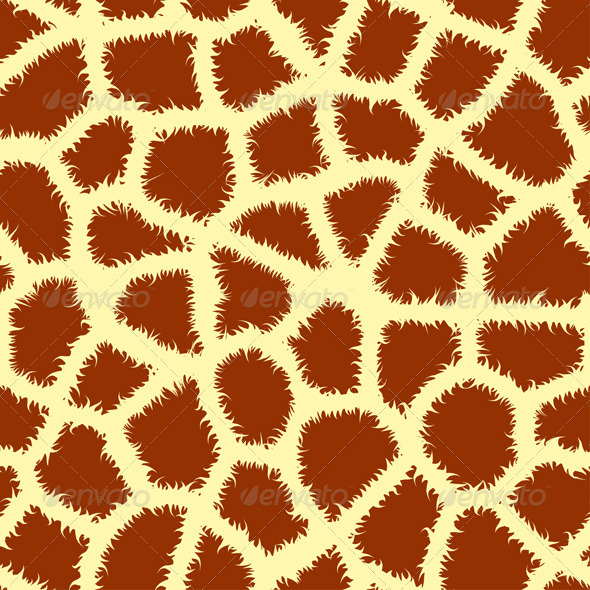 Seamless Animal Print - Patterns Decorative