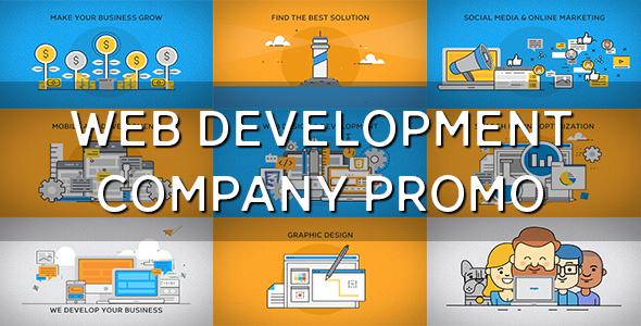 VideoHive Web Development Company Promo 19617621