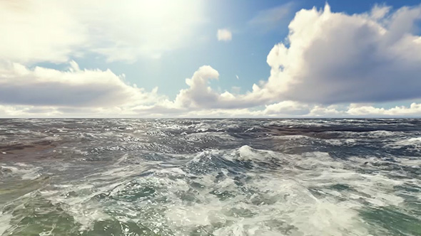 VideoHive Waves On Sea 19617719