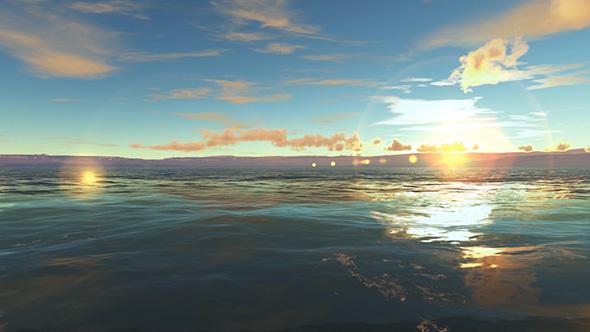 VideoHive Evening Sea 19617883
