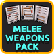 Low Poly Melee Weapons Pack