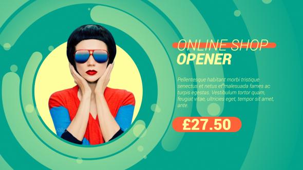 VideoHive Online Shop Opener 19619369
