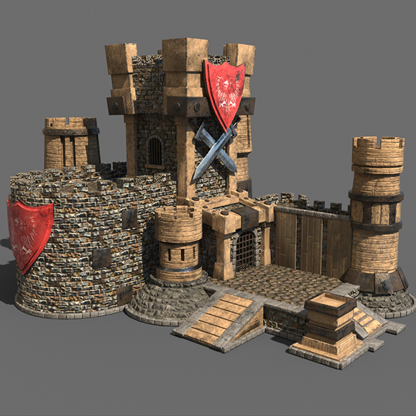 Castle game - 3DOcean Item for Sale