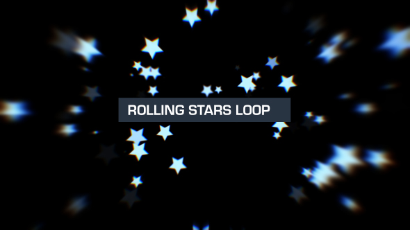 VideoHive Rolling Stars Silver 2 19619508