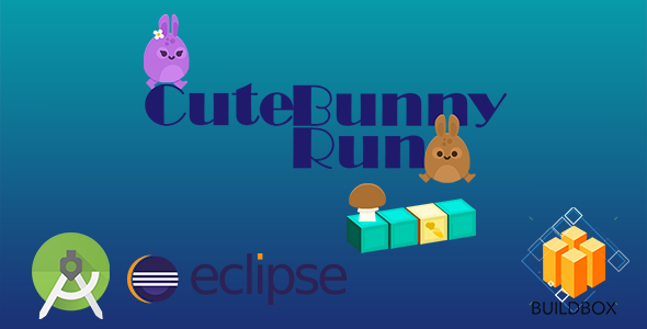 CuteBunny Run - Buildbox Template - Admob - Eclipse