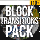 Download Block Transitions Pack | 110 + from VideHive