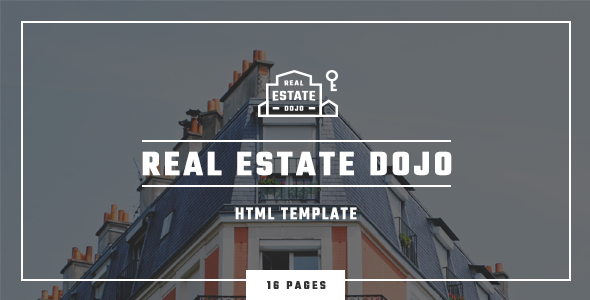 Real Estate Dojo - HTML/CSS real estate agency website template