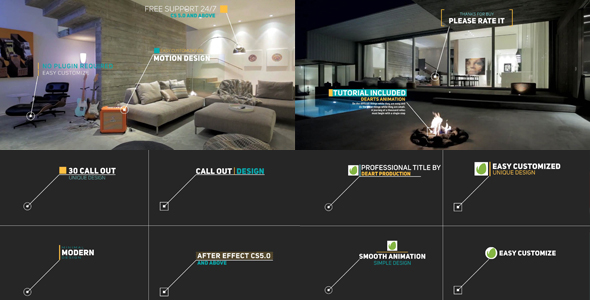 VideoHive Modern Call Out Titles 19620807