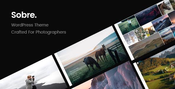 Download Sobre | Minimal Photography Portfolio WordPress Theme