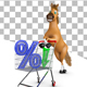 Horse with Trolley and Percent