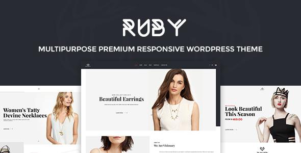 Ruby - Fashion Responsive WordPress Theme