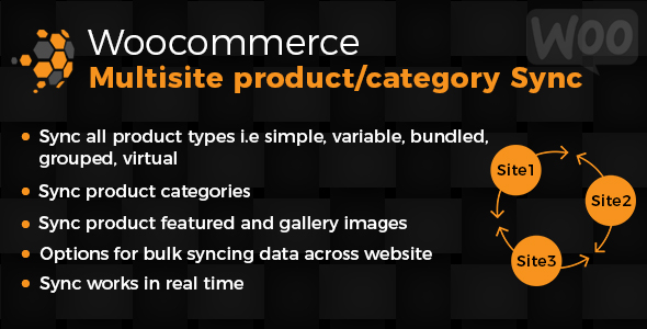 Woo Multisite Item &amp Category Sync (WooCommerce)