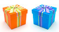 Orange and blue gif box - boxes - PhotoDune Item for Sale