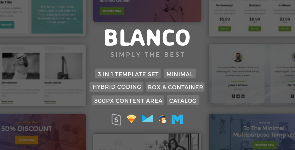 Blanco | Minimalist Template