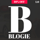 Blogie - Minimalist WordPress Blog theme