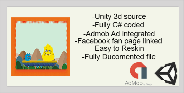 Monster Hunt for Flag | Full Game |UNITY 3D | ADmob advertisements integrated (Games)