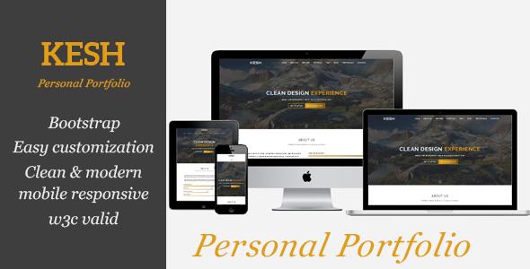 KESH - Personal Portfolio