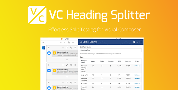 VC Heading Splitter (Add-ons) Download