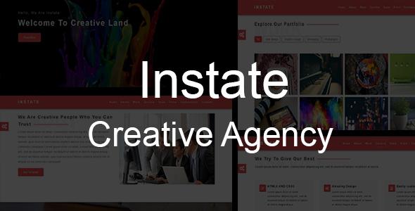 INSTATE-Creative Multipurpose Template
